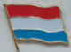 Luxembourg Country Flag Enamel Pin Badge